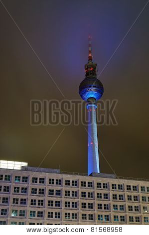 Tower radio - television in Berlin