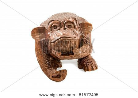 Wooden Decorative Monkey