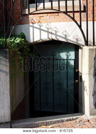 Odd Beacon Hill Entrance