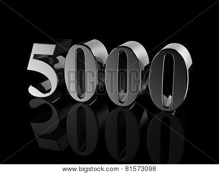 Number 5000