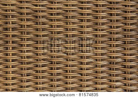 close up chair rattan texture background ,Thailand