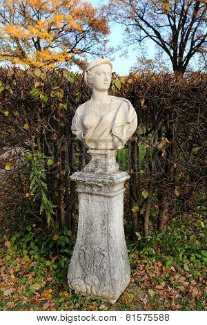 Statue In The Park