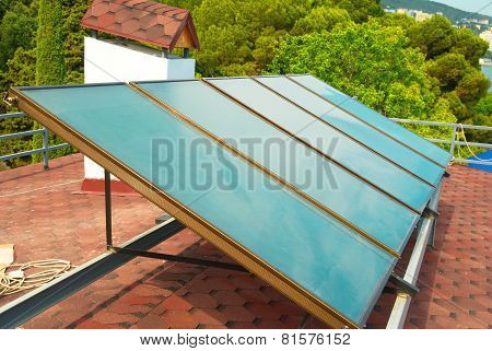 Solar System On The Roof