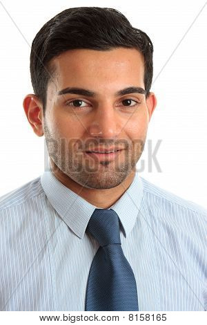 Smiling Businessman Professional Occupation