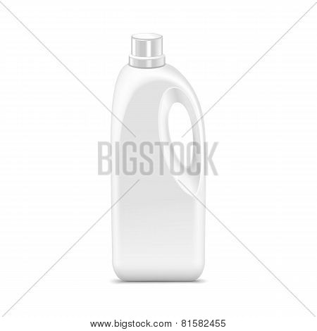 Vector Blank Plastic Jerrycan Canister Gallon