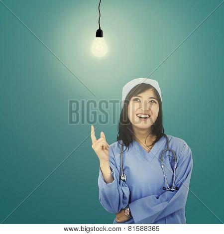 Smart Surgeon Getting Bright Idea