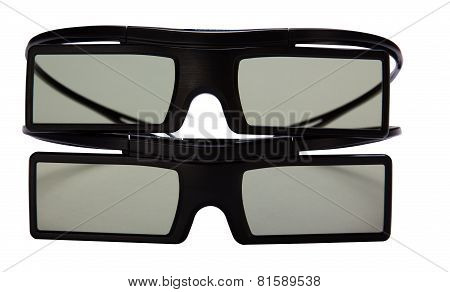 Glasses For Viewing 3D Movies.