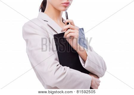Thoughtful Businesswoman.