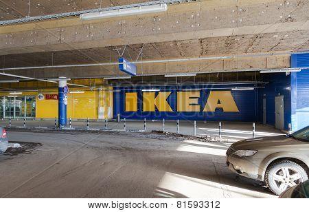 Underground Car Parking Mega Shopping Mall