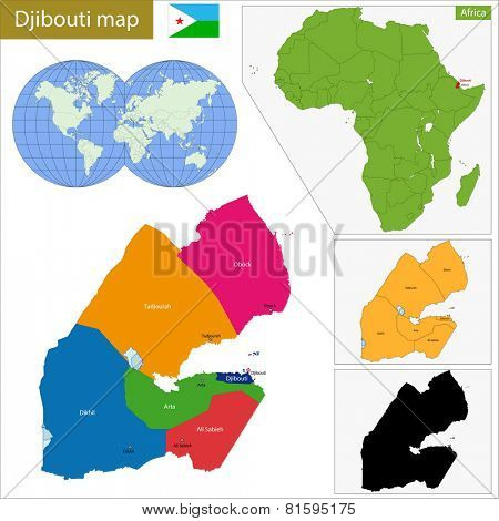 Administrative division of the Republic of Djibouti