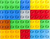 Lego Colorful Plastic Blocks Background poster