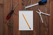 picture of tool  - Tools on the table - JPG