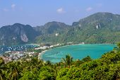 picture of koh phi-phi  - Koh Phi Phi island in southern Thailand - JPG