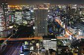 Постер, плакат: Токио ночью