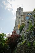 foto of michel  - Monastery  at Le Mont Sent Michel France - JPG