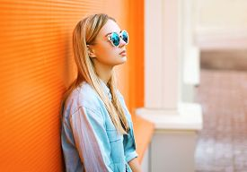 pic of slim model  - Summer fashion and people concept  - JPG
