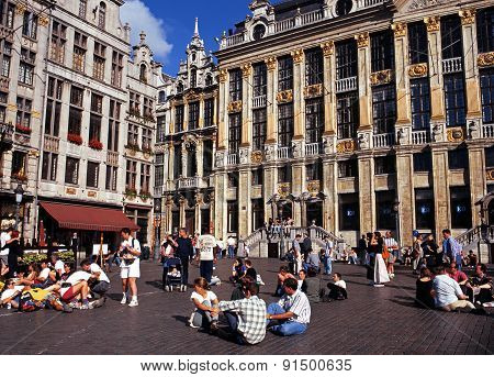 The Grand Place, Brussels.