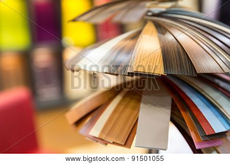 Colorful samples