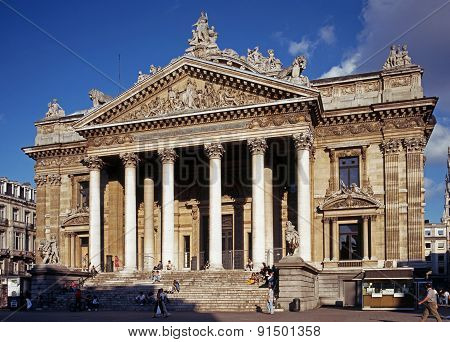 Brussels Stock Exchange.