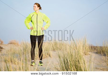 Sport And Fitness - Female Runner