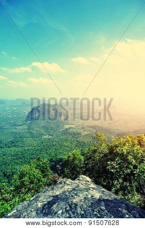 beautiful mountain landscape in thailand