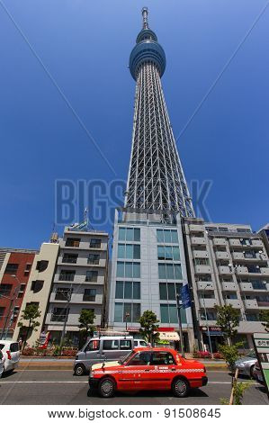 Tokyo's Skytree building