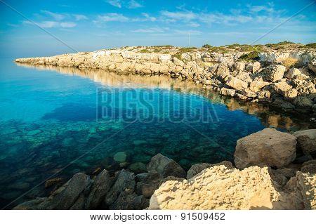 Rocky Coastline, Cyprus