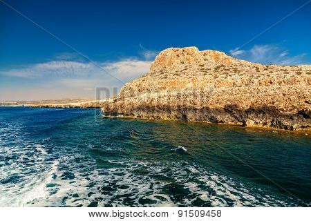 Cape Greco From The Sea