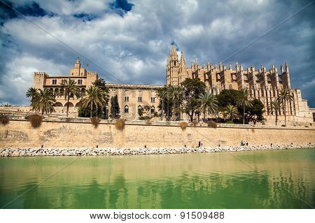 Famous Palma Cathedral
