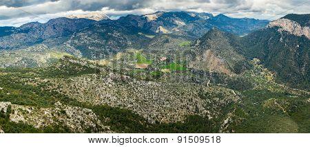Highland Landscape Of Majorca