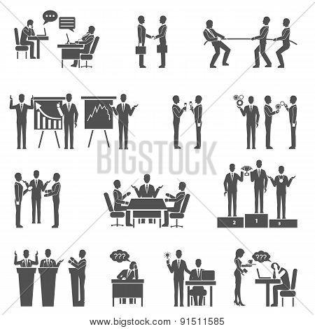 Collaboration Icons Set