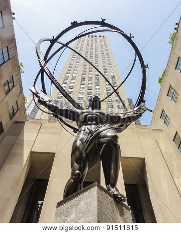 The Atlas Statue, Ny