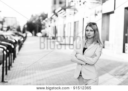 portrait of an executive young woman