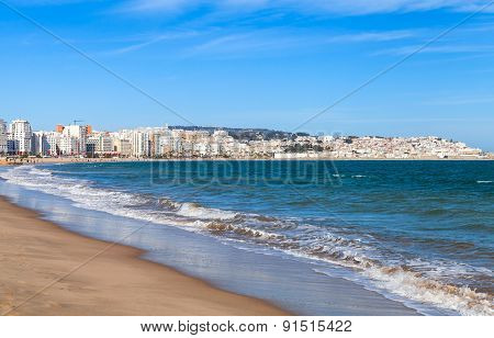 Tangier And Port, Coastal Landscape, Morocco