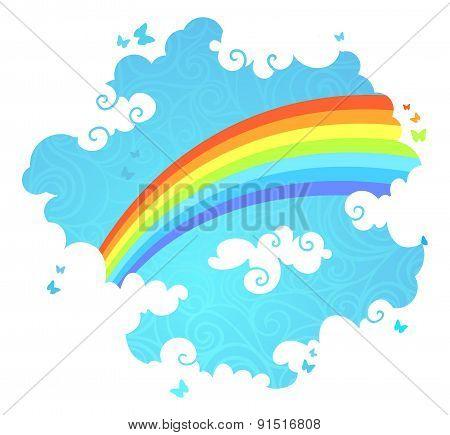 Rainbow In The Sky.
