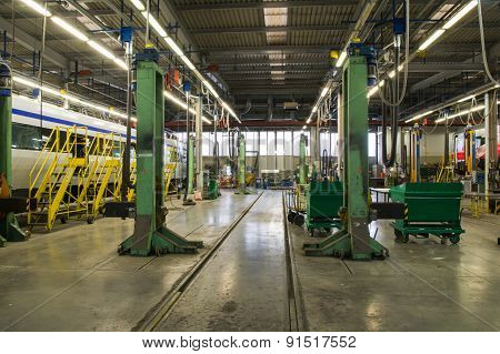 Workshop Rail Cars