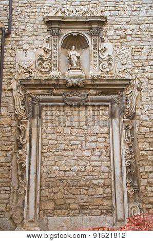 Church of St. Riccardo. Andria. Puglia. Italy.