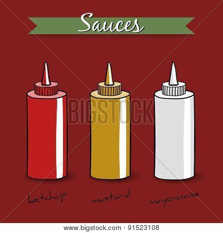 Sauces Vector