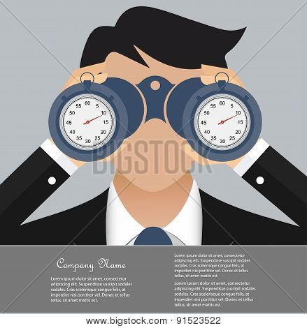 Time is money business concept