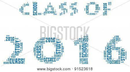 Class Of 2016 - Word Cloud