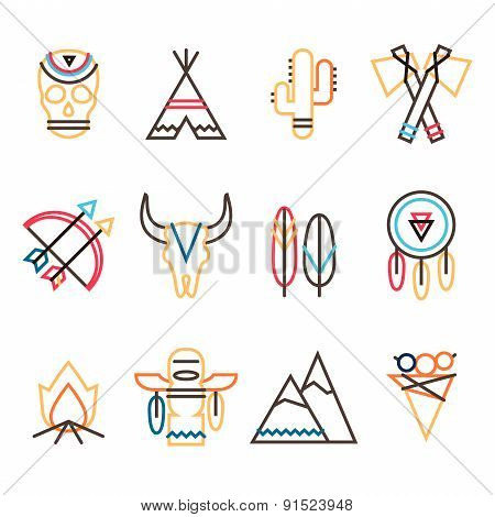 Tribal Icon Set