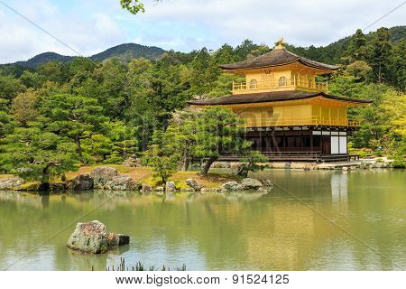 Kinkaku-ji Temple, Kyoto Japan.