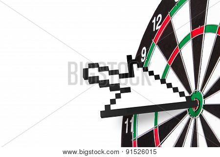 Arrow Cursor On Target