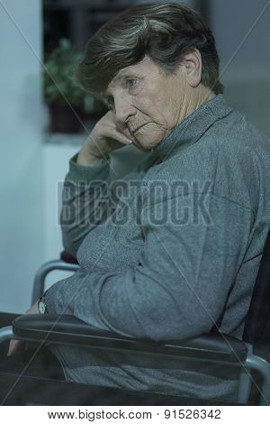Old Women With Dementia