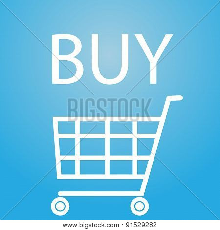 Buy Slogan And Shopping Cart Symbol Eps10