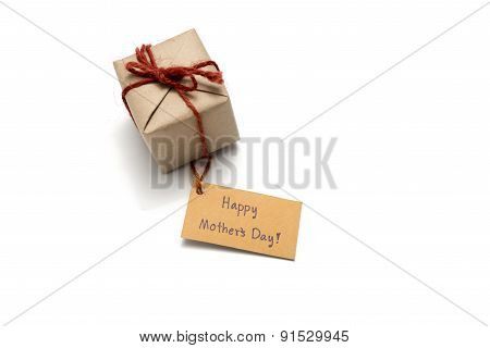 Happy Mother's Day Card And Gift Box