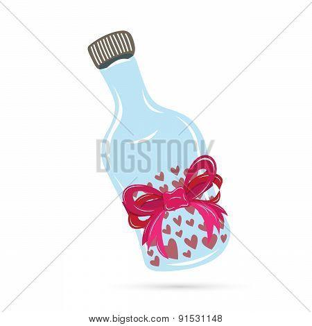 Love Pill Bottle