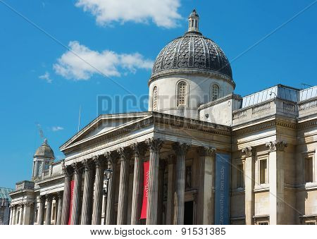 Front Of The National Gallery London