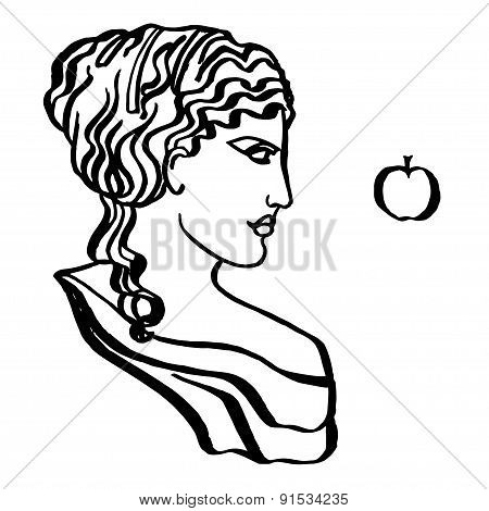 ancient Greek goddess