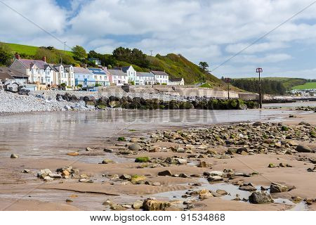Amroth Beach Pembrokeshire Wales